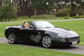 convertible maserati spyder sold maserati 4200 cambiocorsa spyder auctions lot 42 shannons