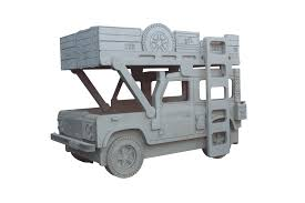 land rover kid land rover 110 military theme bed by fun furniture collection