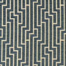 Turquoise Velvet Fabric Upholstery Ocean Blue Geometric Velvet Upholstery Fabric Modern Blue