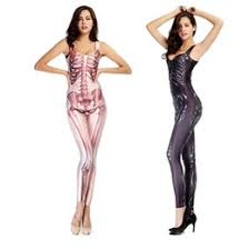 Womens Skeleton Halloween Costume Women Skeleton Costume Women Skeleton Halloween Costume