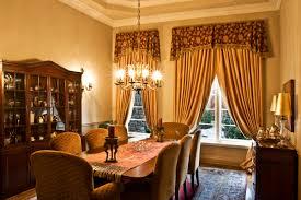 Creating Dining Room Window Treatments Valances Interior Views Window Treatments And Interior