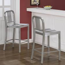 Upholstered Bar Stools With Backs Kitchen Design Amazing Upholstered Bar Stools Silver Bar Stools