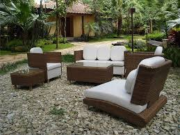 Modern Patio Design Outdoor Fresh Patio Design Idea With Wicker Sofa Also Metal Side