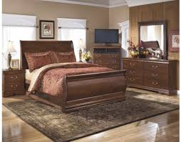 Sleigh Bed Set Wilmington 6 Sleigh Bedroom Set By Furniture