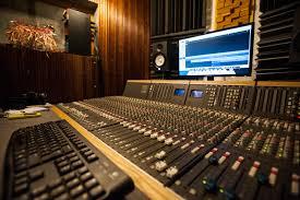 Recording Studio Mixing Desk by Tonehaven Recording Studio