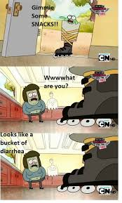 Funny Regular Show Memes - 70 best regular show memes caps images on pinterest cartoon ha