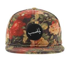 floral snapback the antique floral snapback floral print by vandal