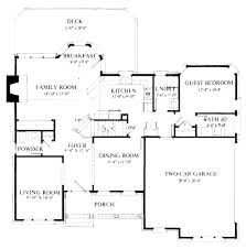 colonial style house plan 4 beds 3 50 baths 2400 sq ft 48 648