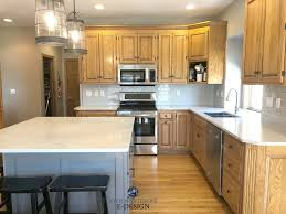 how to clean honey oak cabinets update oak or wood cabinets without a drop of paint