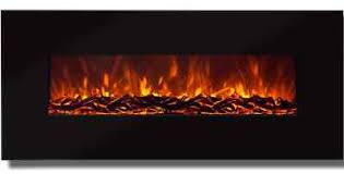 Wall Mounted Electric Fireplace Heater Best Choice Products 50
