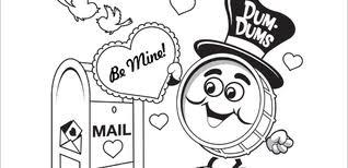 dum dums printables activity coloring pages