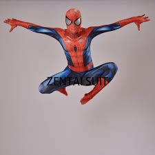 halloween spiderman costume suit canvas picture more detailed picture about ultimate