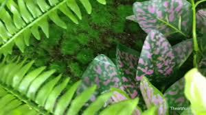 artificial plants wall imitation flowers fake vertical garden