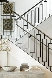 home interior railings modern metal stair railings ideas home interior design image 34