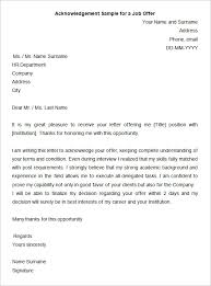 sample letter accepting graduate offer cover letter templates