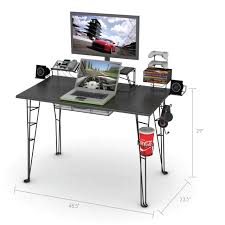 Buy Desk Accessories by Buy Atlantic Gaming Desk In Black With 8 Accessories 33935701 From