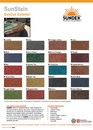 colors sundek of austin concrete coatings restoration and