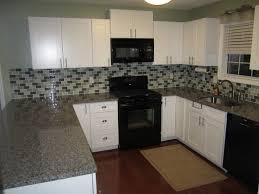Dark Shaker Kitchen Cabinets Furniture Enchanting Kitchen Design With White Rta Cabinets And