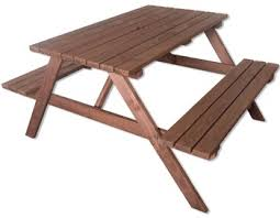 kids outdoor picnic table woodside 4ft outdoor pressure treated picnic pub bench garden table