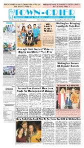 Council Of Trent Documents Dunkin Donuts Town Crier Newspaper April 29 2016 By Wellington The Magazine Llc