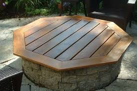Firepit Covers Built In Pit Covers Pit Landscaping Ideas Design