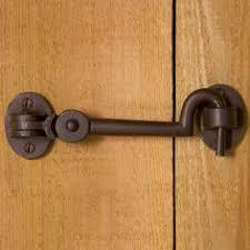 Bathroom D by Solid Bronze Cabin Door Hook Latch Sliding Rail Barn Door To