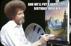 Hilarious Birthday Meme - funny painter happy birthday memes graphics wall4k com