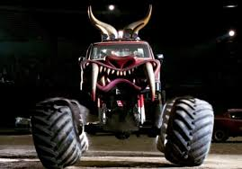 monster trucks crashes videos just a car guy only herbie can land on and destroy a monster truck