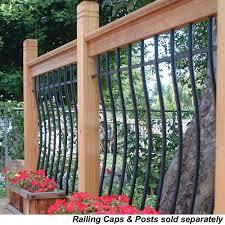 Wood Handrail Kits Free Samples Railsimple Wood Railing Kits Tuscany Series Cedar