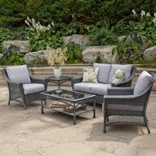 All Weather Wicker Patio Furniture Sets Wicker Patio Table Askrealty Furniture Gray Patio Furniture