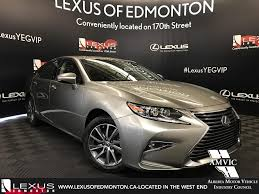 lexus is300 2018 new 2018 lexus es executive package 4 door car in edmonton l13941