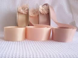 blush satin ribbon blush petal satin ribbon sided 7 8 high quality satin