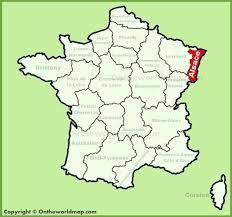 Champagne France Map by Alsace Location On The France Map
