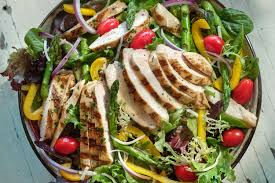 grilled chicken salad briannas salad dressings