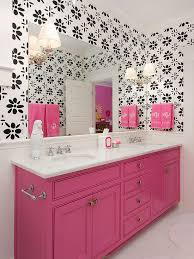 pink and black bathroom ideas pink black and white bathroom ideas home design inspirations