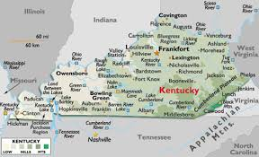 map of ky and surrounding areas kentucky care planning council members home health hospice care
