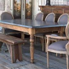 zinc table tops for sale before after kitchen table redo chair makeover french bistro