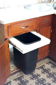 garbage can under the sink under cabinet garbage can imperial trash or recycling cabinet with
