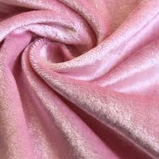 Home Decor Weight Fabric by Soft Pink Cotton Velvet Fabric By The Yard Upholstery Weight