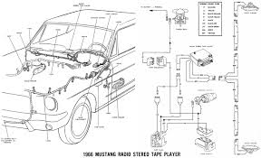 Radio Wiring Diagram 1999 Ford Mustang Best 1966 Mustang Wiring Diagram Photos Images For Image Wire