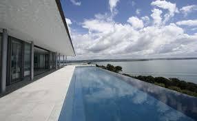 infinity edge pools pleasing infinity swimming pool designs home