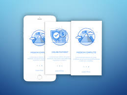 layout animation ios onboarding users screen mobile ui ux inspiration webdesign