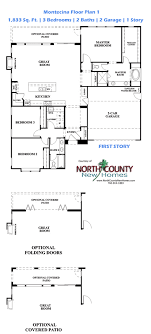 sle house floor plans new single story homes for sale in carlsbad at montecina floor