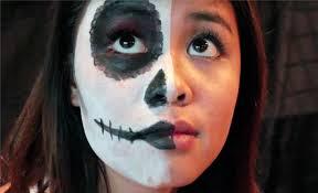 best white face makeup grim reaper makeup tutorial for halloween