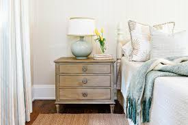 restoration hardware bedside table ls white and tan cottage bedroom with blue accents cottage bedroom