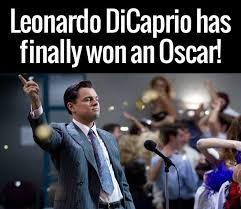 Oscar Memes - leonardo dicaprio has finally won an oscar az meme funny memes