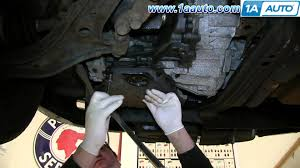 how to install replace rusted leaking transmission fluid oil pan