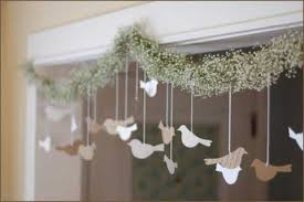 diy wedding decorations diy wedding decorations bird and flower garland