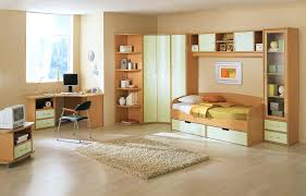 modern teen girls bedroom bunk beds for kids with desks underneath