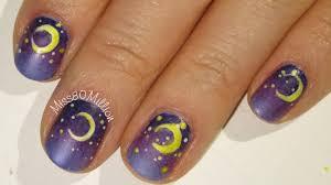 nail art 54 amazing moon nail art photos ideas sailor moon nail